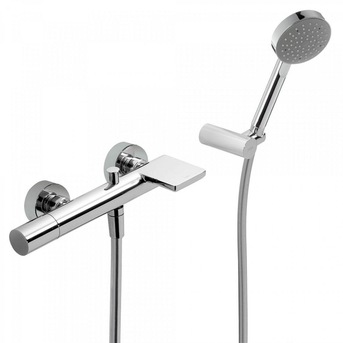 Змішувач для ванни Tres Max-Tres з ручним душем, хром (061.170.01)