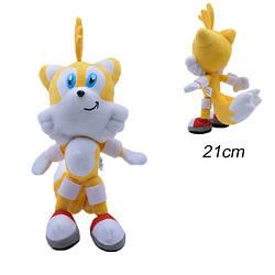 М'яка іграшка Соник Лисеня Тэйлз Хвостатик Sonic the Hedgehog Modern Tails SS 04.05