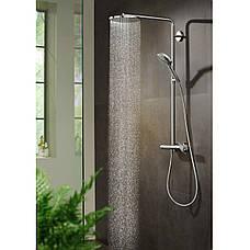 Душевая система Hansgrohe Raindance Select S 240 PowderRain 1jetP с термостатом, хром (27633000), фото 2