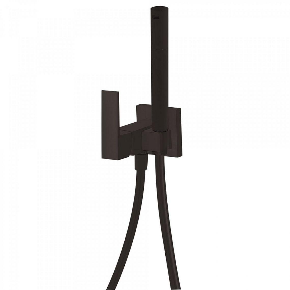 Гигиенический душ, Tres Max-Tres, черный матовый (1.34.123.NM)