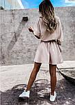 Жіноча сукня -сорочка літня з на гудзиках, фото 7