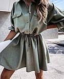 Жіноча сукня -сорочка літня з на гудзиках, фото 3