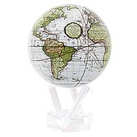 """Глобус самовращающийся левітує Mova Globe """"Terra Incognitta"""", зелений, діаметр 114 мм (США)"""