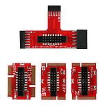 Пост карта post card для ПК и ноутбук KQCPET6 V8 PCI / PCI-E / LPC MiniPCI-E, фото 4