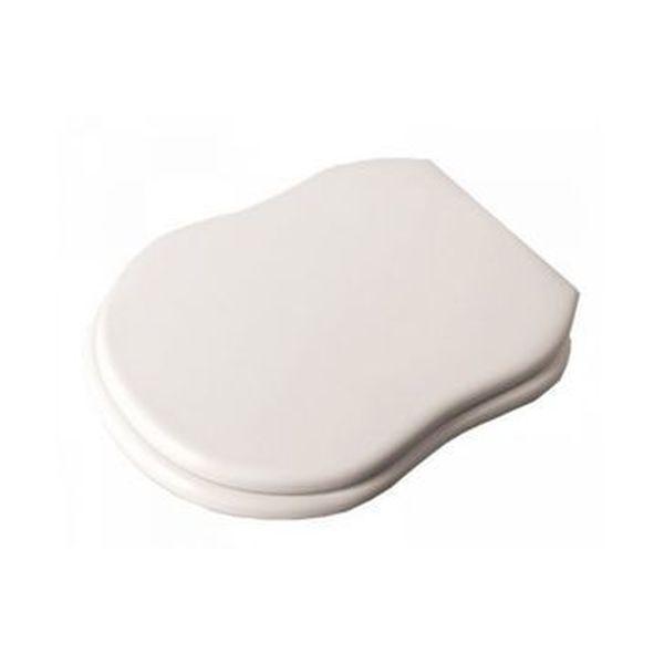 Крышка для унитаза Flaminia Efi Soft-closing, петли- хром, белый (23CR)