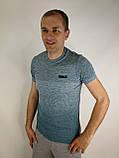 Приталена чоловіча футболка, фото 2