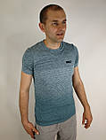 Приталена чоловіча футболка, фото 3