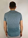 Приталена чоловіча футболка, фото 4
