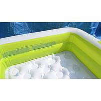 Детский квадратный надувной домашний бассейн Intex 57100 для детей розовый 85х85х23 см, фото 7