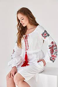"""Платье в украинском стиле  """"Жар птица"""""""