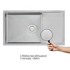 Кухонна мийка Qtap D7844 3.0/1.2 мм (QTD784412), фото 3