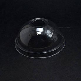 Крышка купольная с отверстием для стакана Ø 95мм РЕТ 180.200,300,420,500 уп/50 штук