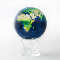"""Глобус самовращающийся левітує Mova Globe """"Вид з космосу"""" діаметр 114 мм (США)"""