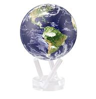 """Глобус самовращающийся левітує Mova Globe """"Земля в хмарах"""" діаметр 114 мм (США)"""