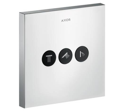 Запірний вентиль Axor ShowerSelect Sguare на 3 режиму, хром (36717000), фото 2