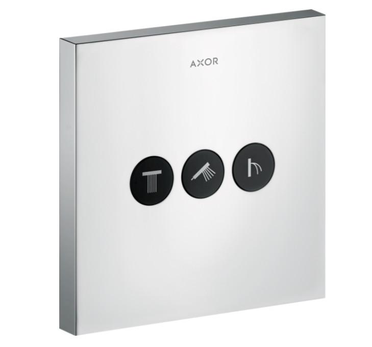 Запірний вентиль Axor ShowerSelect Sguare на 3 режиму, хром (36717000)