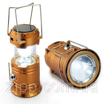 Кемпінговий ліхтар SL - 5800| Лампа-ліхтар для кемпінгу| Ліхтар з сонячною батареєю і акумулятором