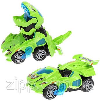 Трансформер машина-динозавр HG-788  Машина трансформер  Робот-трансформер у вигляді динозавра