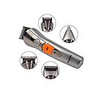 Набор для стрижки Kemei 580 7в1 | Триммер для стрижки бороды | Машинка для стрижки | Набор для стрижки волос, фото 4