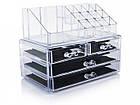 Подставка-органайзер для косметики| COSMETIC STORAGE BOX| Настольный ящик| Органайзер для хранения косметики, фото 2