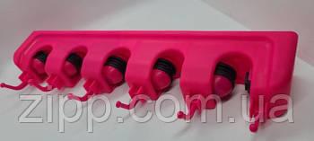 Держатель для швабры Broom Holder (Розовый)| Настенный держатель для швабры