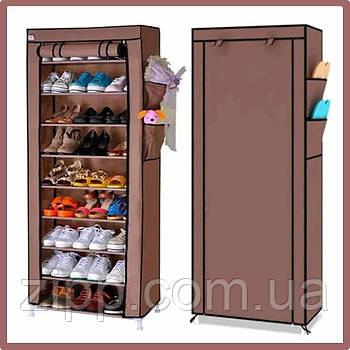 Тканевый шкаф для хранения обуви Shoe Cabinet 160х60х30 см