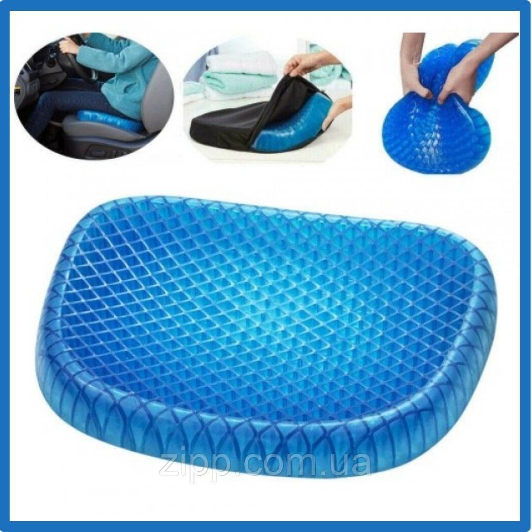 Ортопедическая гелевая подушка  Подушка для разгрузки позвоночника