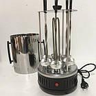 Шашлычница электрическая| Электро-шашлычница| Вертикальная домашняя шашлычница электрическая, фото 8