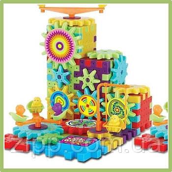 Конструктор Funny Bricks 81 деталь| 3D Дитячий розвиваючий конструктор