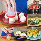Формочки для варки яиц без скорлупы Egg Boil| Cиликоновые формы для варки яиц, фото 3