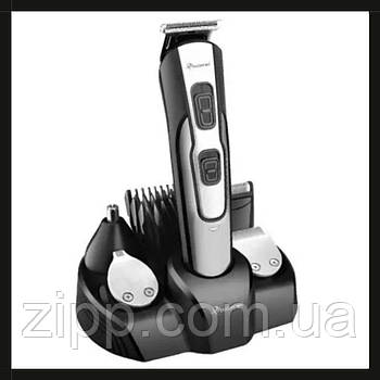 Машинка для стрижки Gemei GM 592 10 в 1  Універсальна машинка для стрижки  Тример для носа і вух, бороди