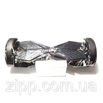 Гироборд 8 дюймов Smart Balance Elite Lux Черная молния  Гироборд с колонкой и с подсветкой колес