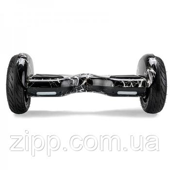Гироборд 10 дюймов Smart Balance Elite Lux Черная Молния  Гироборд с колонкой и с подсветкой колес