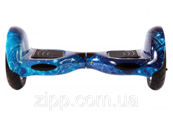 Гироборд Smart Balance 10 дюймов синий космос  Гироборд с колонкой и с подсветкой колес