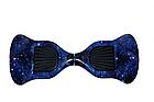 Гироборд Smart Balance 10 дюймов синий космос  Гироборд с колонкой и с подсветкой колес, фото 2