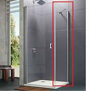 Реверсивная боковая стенка 800x1900, профиль хром, стекло проз. HUPPE 8P1003.092.321 Design pure