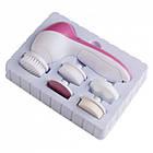 Массажер для лица Beauty Care Massager AE-8782 5 in 1  Инструмент для массажа лица  Чистка лица, фото 3