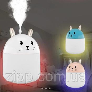 Увлажнитель воздуха Кролик Светильник-увлажнитель Увлажнитель воздуха c подсветкой Ультразвуковой увлажнитель