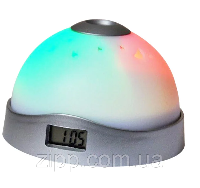 Часы 2091 с проектором| Ночник-часы| Ночник с часами| Проектор-часы с LED подсветкой