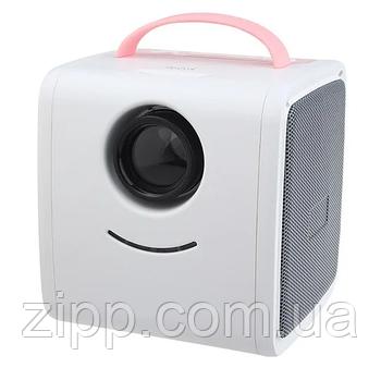 Детский мини проектор SUNROZ Q2 Kids Story Projector| Домашний кинотеатр| Проектор для дома