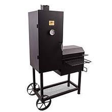 Коптильня гриль с металлическим столиком и датчиком температуры Oklahoma Joe's Bandera Char-Broil 16202020