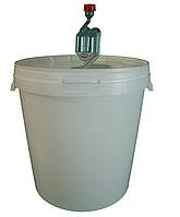 Емкость для брожения (ферментер) 33 л + гидрозатвор