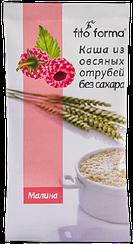 Каша из овсяных отрубей  Fito Forma без сахара с Малиной (40 грамм)