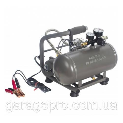 Компрессорная станция Berkut SA-06: компрессор 14 атм с ресивером 5,7 л (пневмосистема 12В)