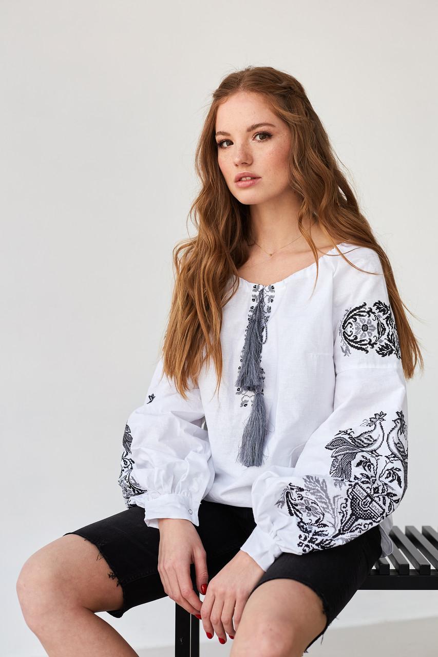 Вишита жіноча блуза - Жар-Птиця