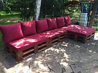 Подушки и матрас для мебели из поддонов и садовой мебели