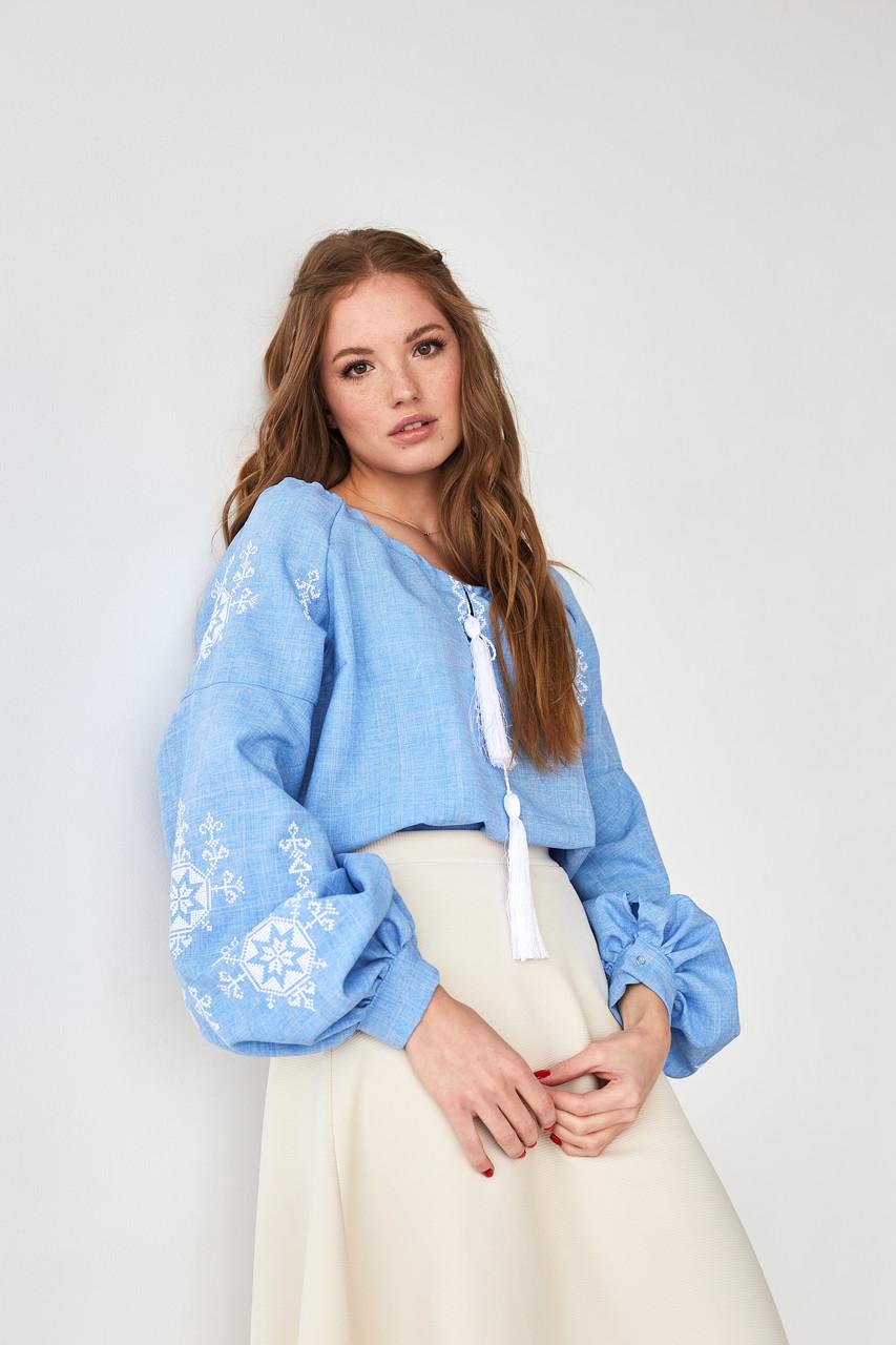 "Блузка с вышивкой ""Звезда"""