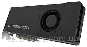 Видеокарта GTX 1070 Ti 8GB PNY Turbo Blower (VCGGTX1070T8PB-CG) Б/У