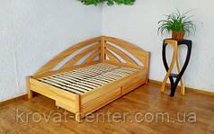 """Кутова ліжко """"Веселка""""."""