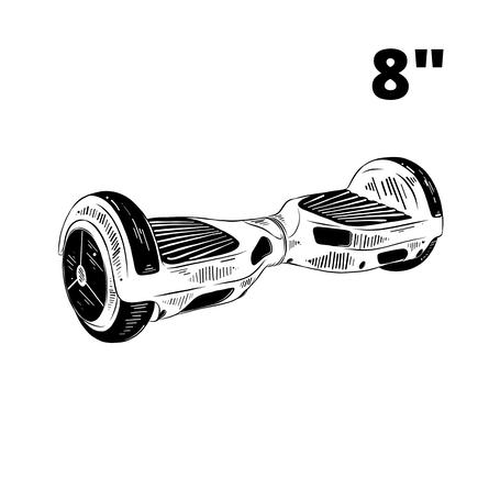 Гіроборд 8 дюймів